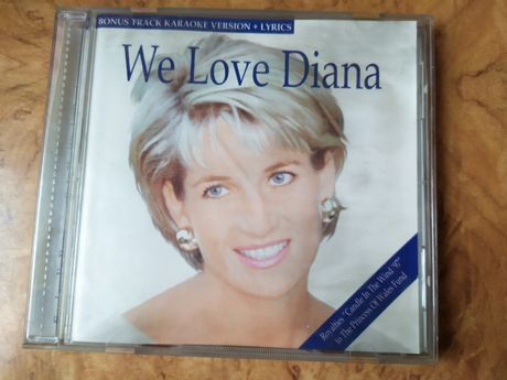 Płyta CD We love Diana