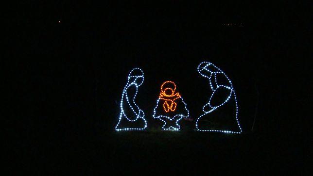 Szopka Bożonarodzeniowa LED ozdoba świąteczna