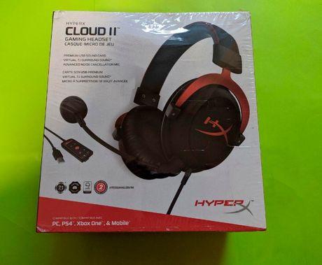 HyperX Cloud 2 II НОВЫЕ! В упаковке!