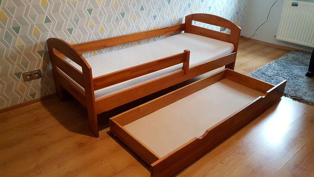 Łóżko prawdziwe drewno materac dziecko dziecięce Racibórz Rybnik