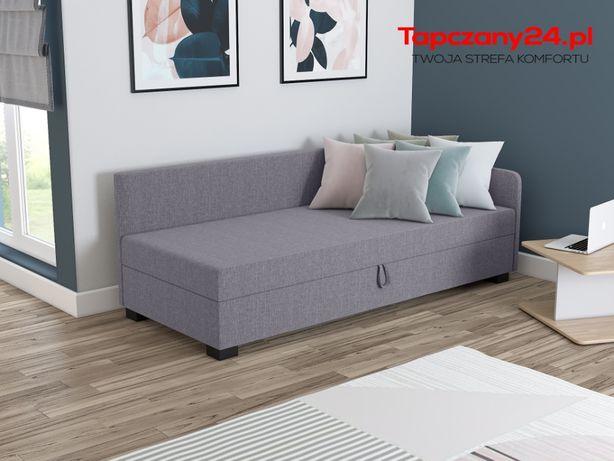 Łóżko 80/90/100 Sofa z pojemnikiem na pościel Tapczan +Poduszka HIT