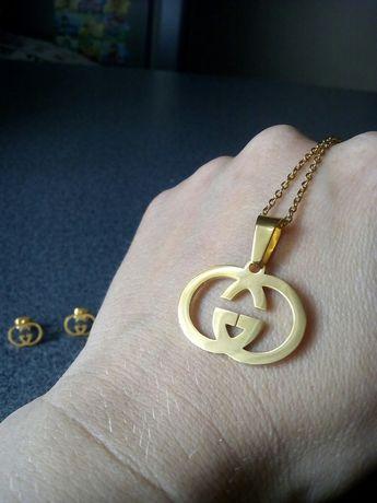 Komplet biżuterii gucci nowy