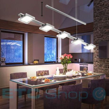Mocna lampa bilardowa typu zwis FUTURA idealna nad stół Paul Neuhaus