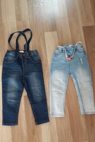 Spodnie jeansowe rozmiar 92