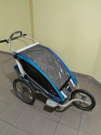 Wózek Thule Chariot CX2 przyczepka jogger hamaczek zestaw trekingowy