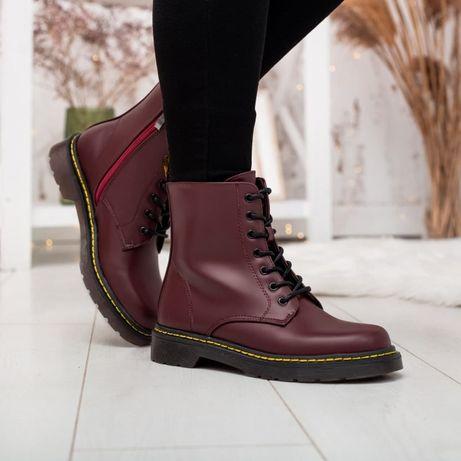 Ботинки женские НОВАЯ МОДЕЛЬ!!!Стіллі Еір Вейт бордо Сапоги Черевики