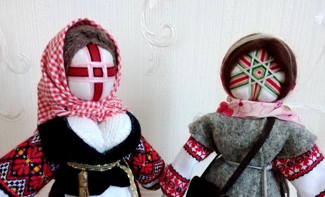 """Кукла мотанка """"Берегиня"""", """"Коляда"""", высота 29 см, лялька."""
