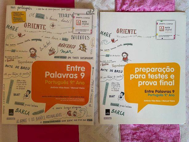 Manual de Português 9º ano - Entre Palavras 9