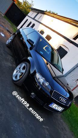 Audi a3 8p zderzak maska ly9b czarna