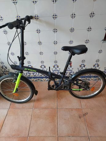 Bicicleta dobravel . igual a novo