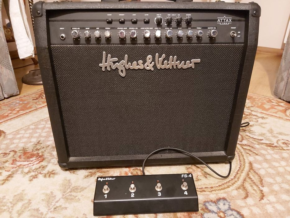 Combo Gitarowe Hughes & kettner Attax 100 Miłoszyce - image 1