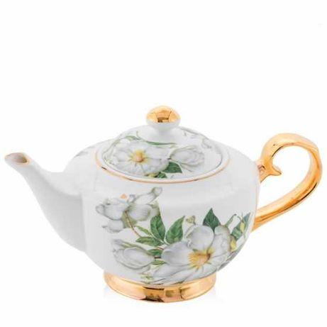Home&You Zestaw HANA dzbanek i filiżanki do herbaty