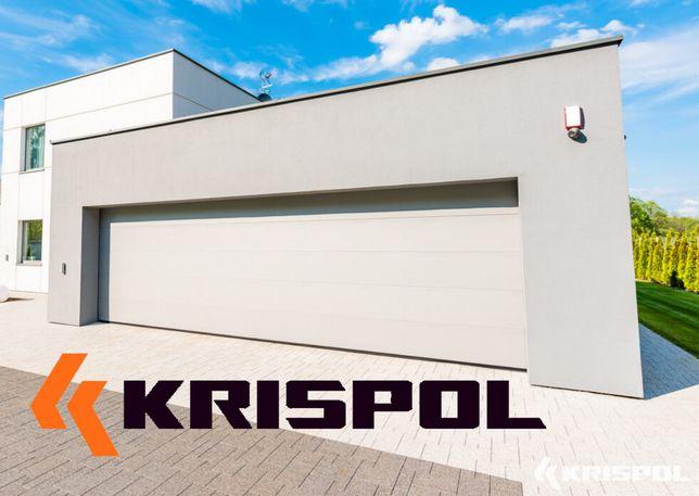 Brama garażowa segmentowa przemysłowa Krispol MONTAŻ CAŁA POLSKA