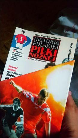 Historia Polskiej Piłki Nożnej z teczką