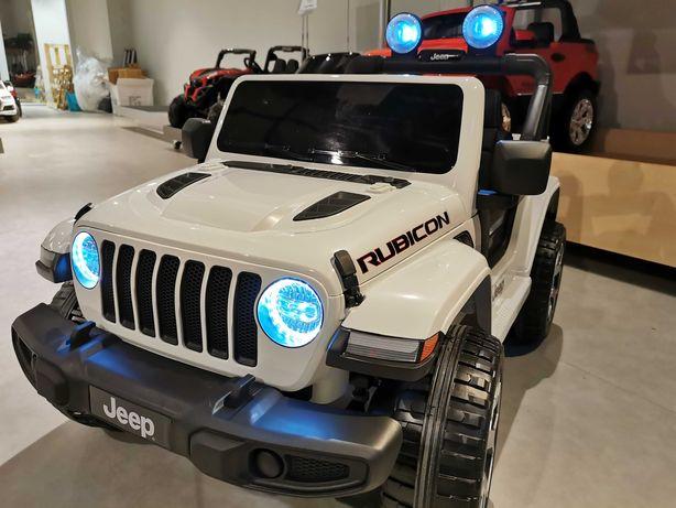 Jeep Rubicon 4x4 autka auto autko pojazd samochód akumulator zabawki