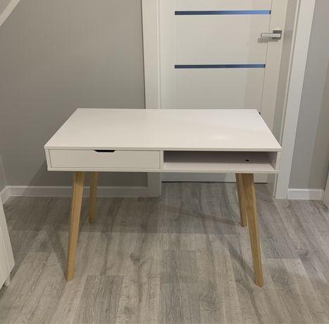 Biurko białe z szufladą