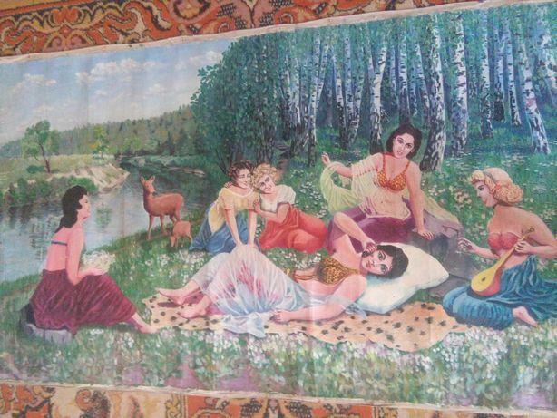 "Картина ""Дівчата на природі"""