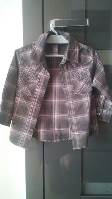 Koszula roz 86 H&M