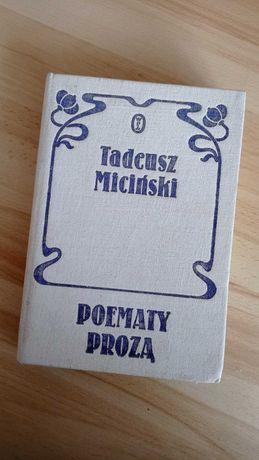 Tadeusz Miciński Poematy Prozą