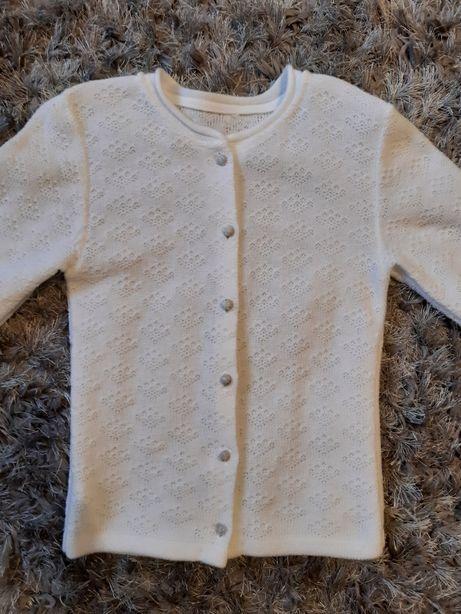 Sweterek rozpinany 152cm
