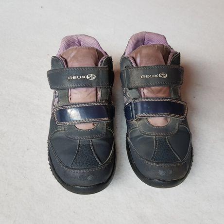 GEOX : nieprzemakalne solidne buciki wiosenne wkladka 18 cm
