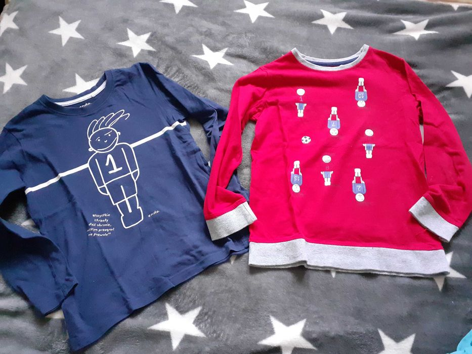 Koszulki bluzki h&m  r.116-122 Elbląg - image 1