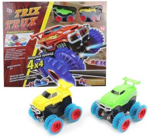Монстр трак популярный игрушечный трек Trix Trux 1938 ( 2 машинки )