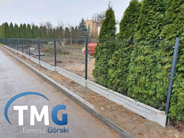 Kompletna ogrodzenie panelowe h-120cm fi4 dofinansowania ASF