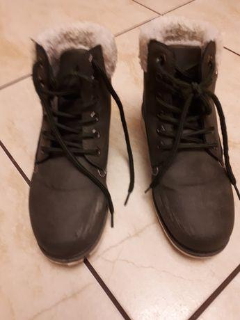 Buty zimowe dla dziewczynki 36