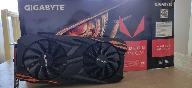 AMD Radeon Rx Vega 56 Gigabyte Gaming OC 8GB