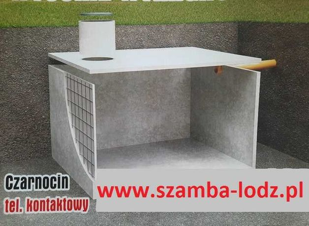 Szambo, szamba, zbiorniki betonowe Łódź, Bełchatów, Piotrków Tryb.