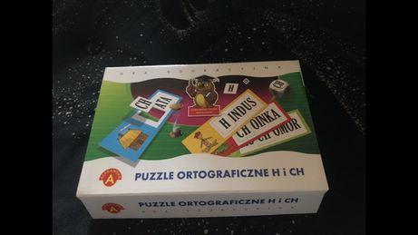 Puzzle ortograficzne H i Ch stan idealny