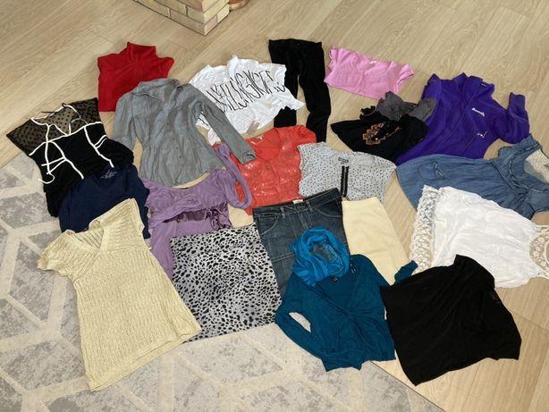 Mega paka ubrań, 21 sztuk, rozmiar 38, zestaw