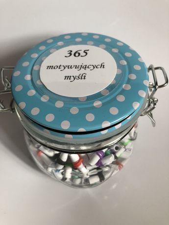365 motywujących myśli prezent dla każdego