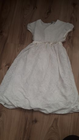 Sukienka biała stan idealny
