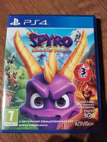 Gra Spyro reignited trilogy PS4 pl