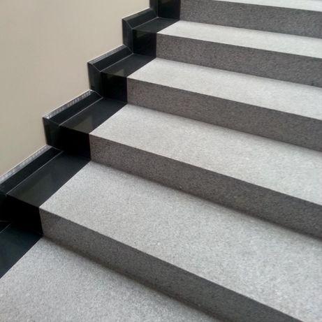 Granit Schody, Parapet Stopnica 150x33x2 G603 Poler/Płomień