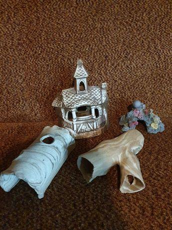 Ozdoby, zamek, korzeń ceramiczny