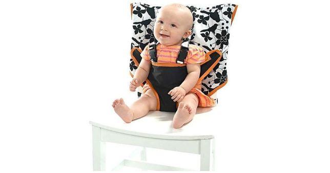My Little Seat novo preto branco assento criança