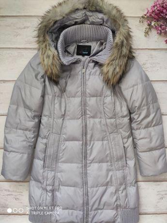 Пальто пуховик демисезон icebear б\у рр.s