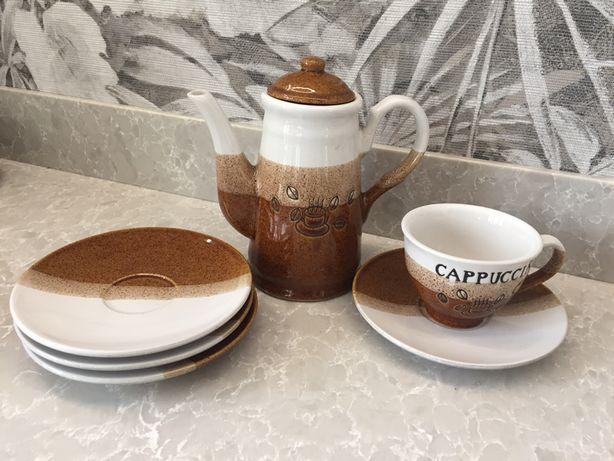 Komplet Swrwis kawowy 4 osobowy