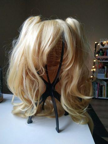 Blond / żółta peruka