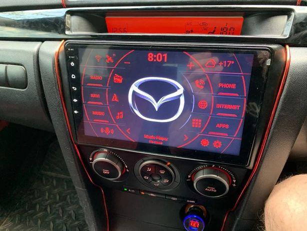 Mazda 3 bk 2003-3008 автомагнитола android