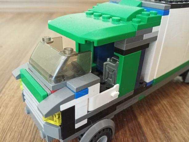 Лего грузовик, самодельный
