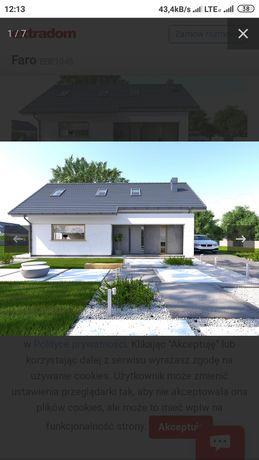 Projekt architektoniczno budowlany domu Faro