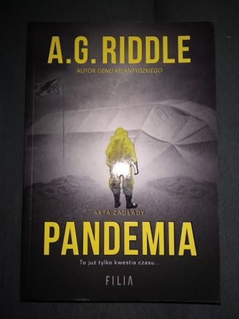 """Pandemia"" A. G. Riddle"