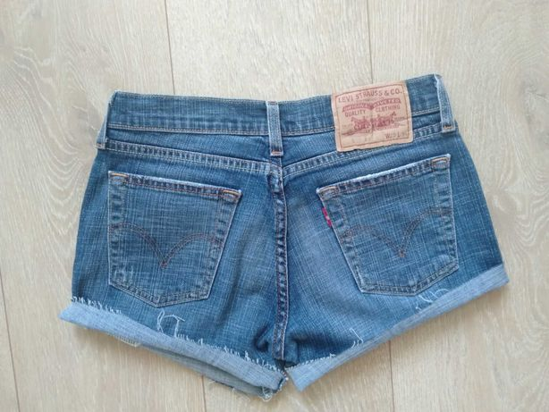 Szorty jeansowe Levi's krótkie spodenki