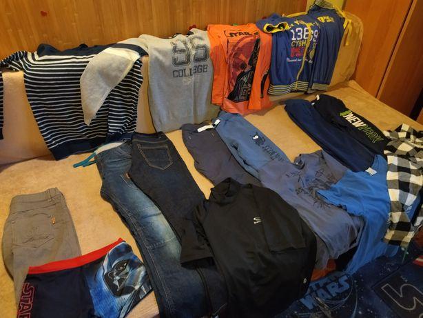 Ubrania, spodnie, bluzki 146-152