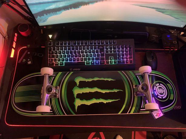 NOVO - Skateboard Element da Monster Energy