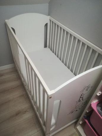 Łóżeczko dziecięce, materac 120x60 cm